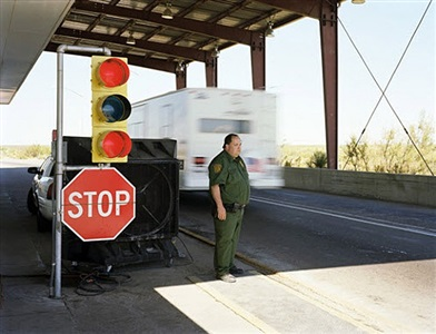 highway checkpoint, new mexico by david taylor