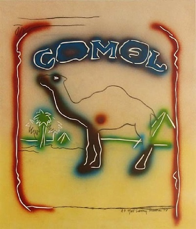 stencil camel by larry rivers