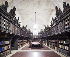 abadía cisterciense santa maria la real de oseira i 2010 by candida höfer