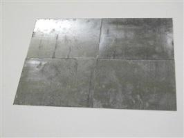 zinc quadrank by carl andre