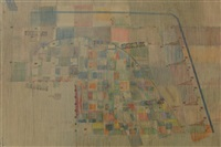 untitled (floorplan of the world trade centre) by ovadia alkara