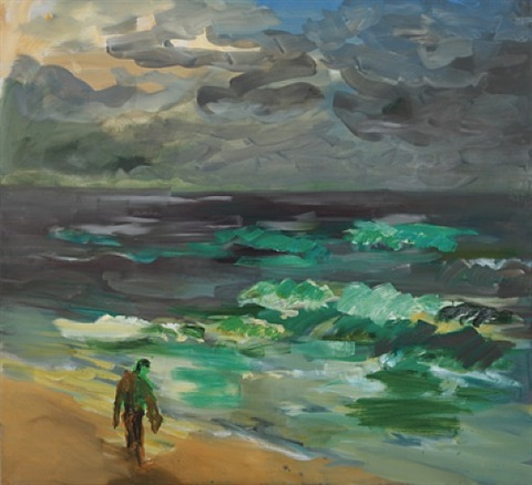 vor rauher see (sylt) by rainer fetting