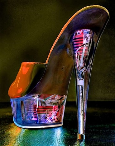 stripper shoe by albert watson
