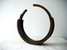 "219.5° arc x 5"" by bernar venet"