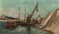 quai de bercy, paris by armand guillaumin