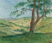 les collines aux environs de rolleboise by maximilien luce