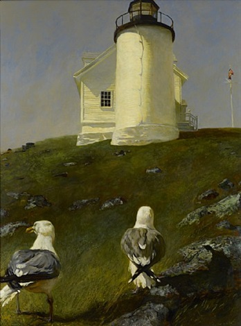 sea birds by jamie wyeth