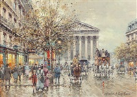 rue royale, paris by antoine blanchard