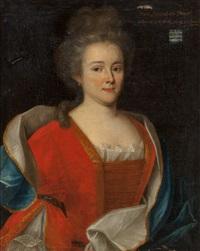 marie-elisabeth de fribois, wife of chevalier francois leverrier by french school (18)