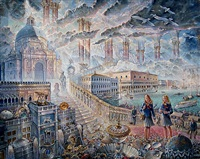 arrival in venice by john stephens