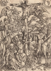 crucifixion of christ by albrecht dürer