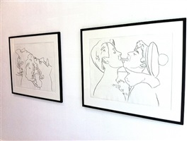 querelle (installation view) by andy warhol