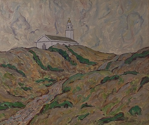 church on the dunes by allen tucker
