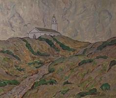 church on the dunes by allen tucker