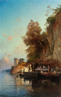 refuge by the sea by hermann david salomon corrodi