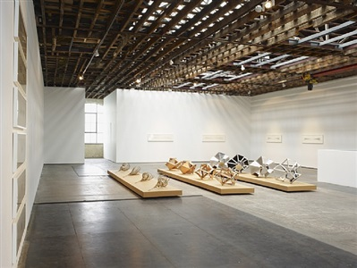 installation view, victoria miro galley, 2011 by conrad shawcross