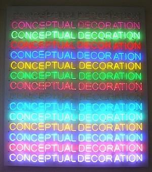 conceptual decoration by stefan brüggemann