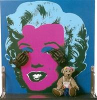 der teddybär von mm by daniel spoerri