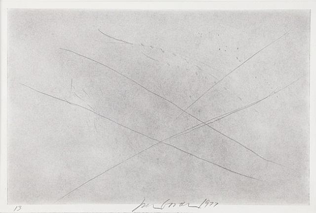 black drawing 13 by joe goode