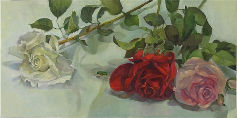 foreign traveler, roses by iona fromboluti
