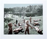 babies at paradise pond by sandy skoglund