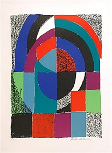 sonia delaunay works on paper and prints by sonia delaunay-terk