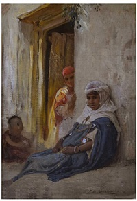 afternoon sun by frederick arthur bridgman