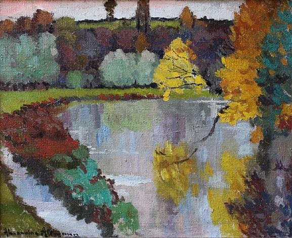 river landscape by alexandre altmann