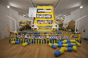 equality float by thomas hirschhorn