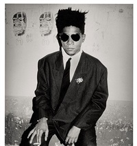 jean-michel basquiat, palladium, nyc by roxanne lowit