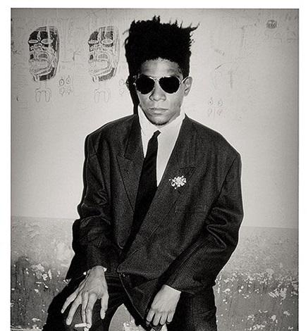 jean-michel basquiat, palladium, nyc by roxanne lowit