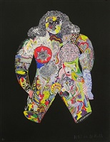 la femme (portrait of mimi) or clarissa by niki de saint phalle