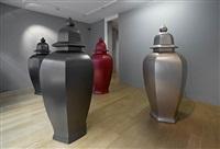 installation view (entrance) by allan mccollum