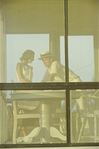 lanesville, mass (robert and dorothy weaver) by saul leiter