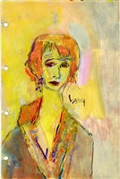 susan from sketchbook 2 by saul leiter