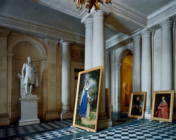 vestibule, salles empire, aile du midi, versailles by robert polidori