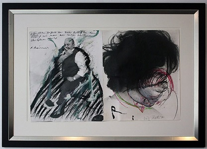 o.t. (zwei fotos) by arnulf rainer and dieter roth