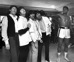 muhammad ali and the beatles, miami by harry benson