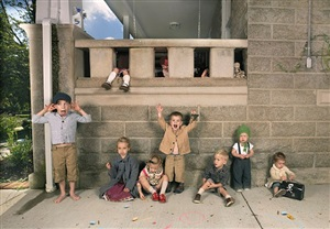 line-up by julie blackmon