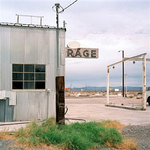 rage, baker, ca by jeff brouws