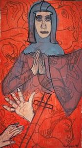 joan of arc by grace hartigan