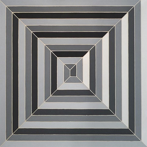 cinema de pepsi sketch i by frank stella