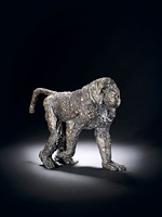 walking baboon by elisabeth frink