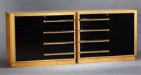 chests of drawers (pair) by modernage