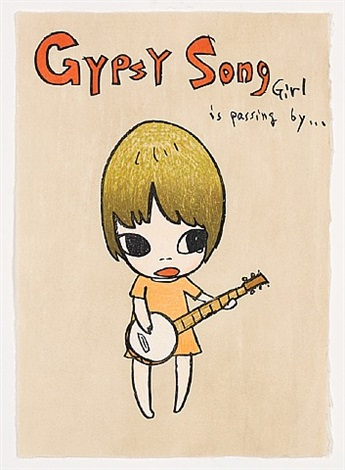 gypsy song by yoshitomo nara