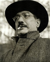 mark rothko with cigarette (at the ice house, ny) by consuelo kanaga