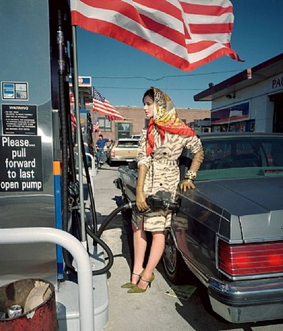 fashion magazine: fashion shoot, new york by martin parr