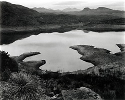 arizona (san carlos lake) by edward weston