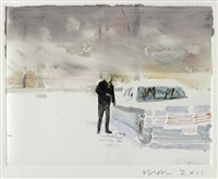 snow/cadillac by wendy mark