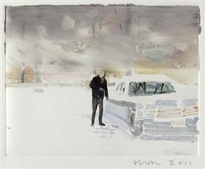 snow/cadillac by wendy mark